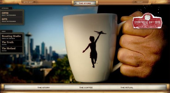 Storyville in 35 Beautiful E-Commerce Websites