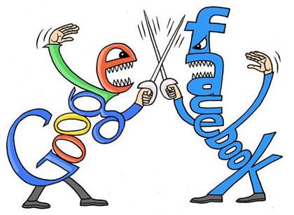 Google vs. Facebook Google+ tận dụng ưu thế từ nền tảng giao tiếp của Google