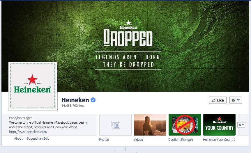 Fan Page cover cũng được thay đổi theo chiến dịch