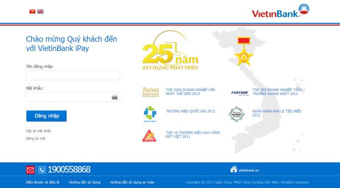 vietinbank-ipay-login