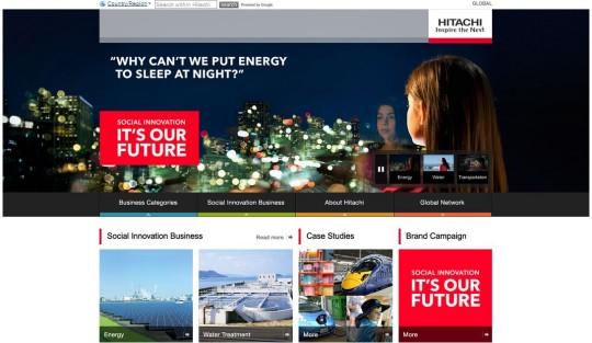Social Innovation - Hitachi Glob Website