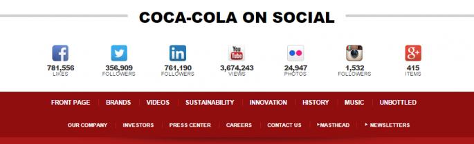 cocacola social 685x209 - Chia sẻ cách phát triển fanpage bán hàng chuẩn chỉnh ra đơn liên tục