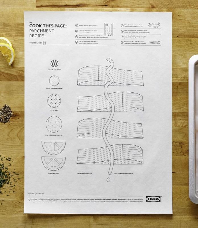 Cook this page là sản phẩm nấu ăn kết hợp với hình vẽ độc đáo