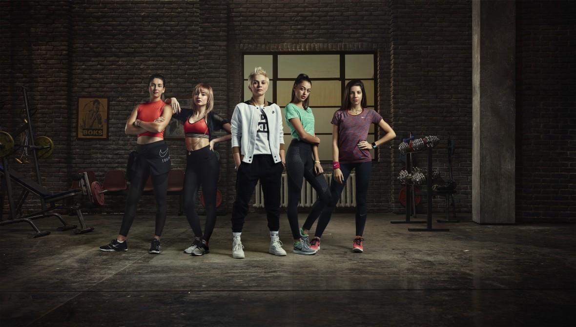 Những cô gái mạnh mẽ của Nike