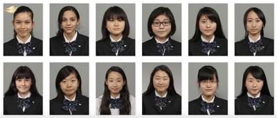 Tấm ảnh thẻ thiếu tự tin của các nữ sinh Nhật Bản